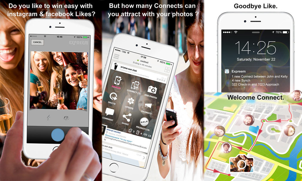 Expreem | the best app to find and meet people nearby